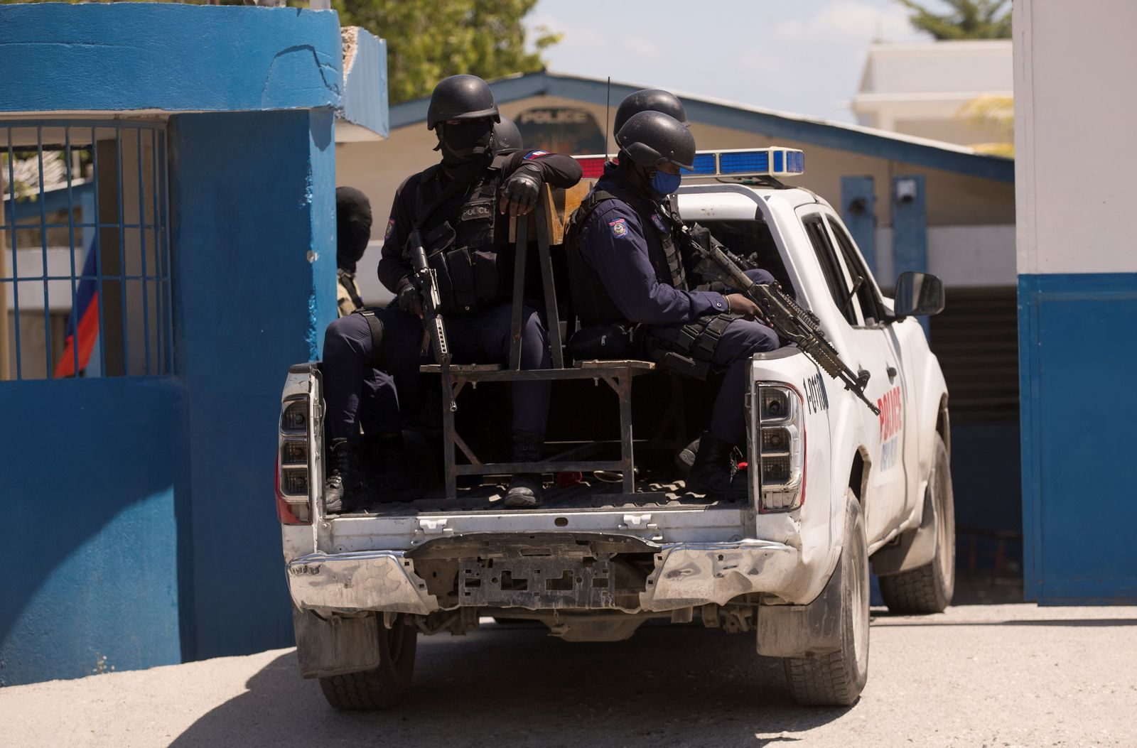 18 Colombians captured for their alleged participation in the assassination of the Haitian president