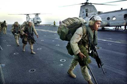 Auf der Suche nach Bin Laden: US-Marines