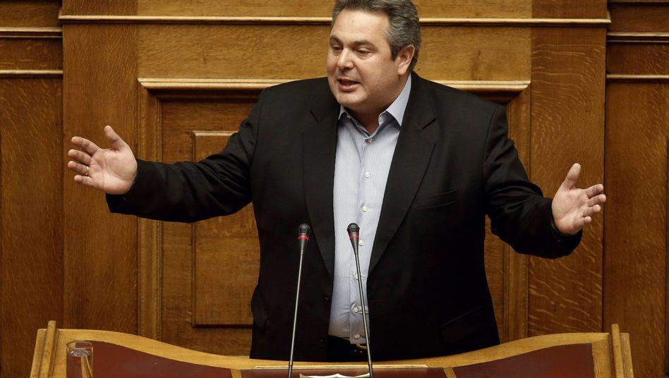 "Panos Kammenos: ""Dann ist Europa selbst schuld"""