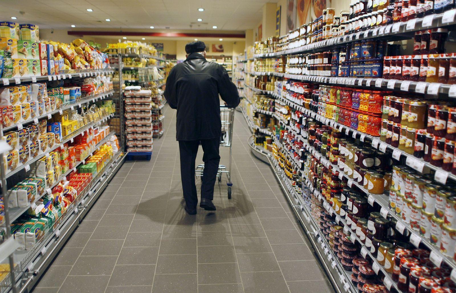 Barrierefreier Supermarkt
