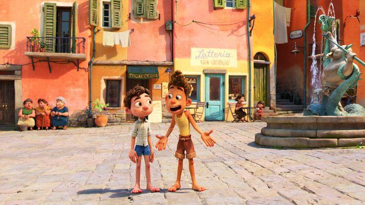 Vom Suchen und Finden des eigenen Ich: Italien als Bühne in Pixars »Luca«