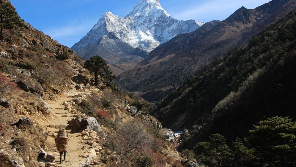 Träger im Himalaya: Ohne sie geht nichts