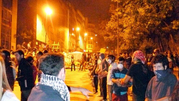 Demonstranten in Istanbul: Erdogans Gegner, Erdogans Fans