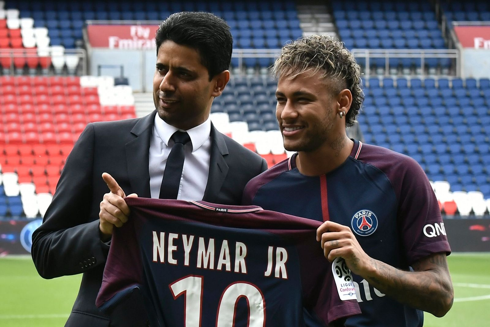 Neymar Khelaifi PSG