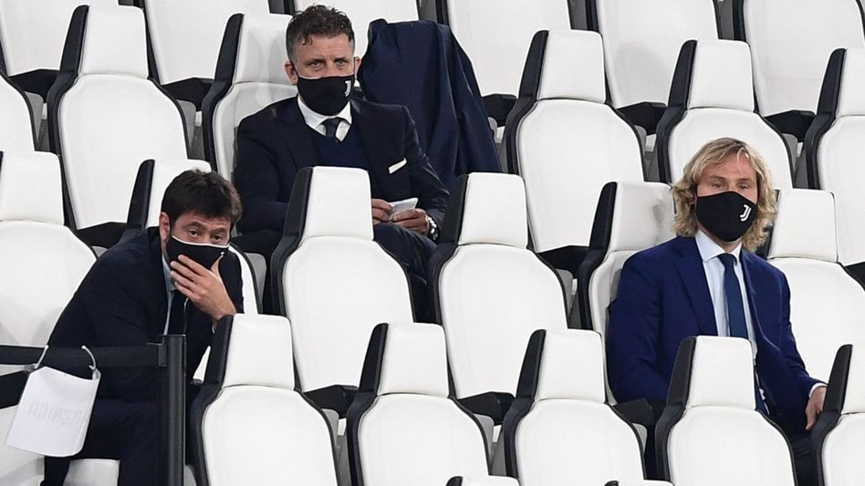 Juventus-Präsident Andrea Agnelli (links): Den Hauptinitiator der Super League trifft nun der Ärger von Anlegern