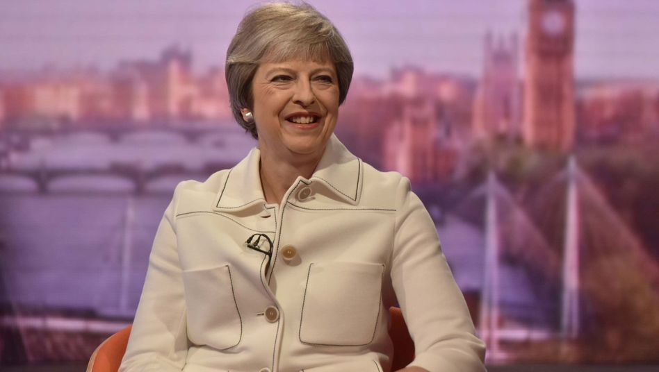 Theresa May im Interview mit Andrew Marr, BBC