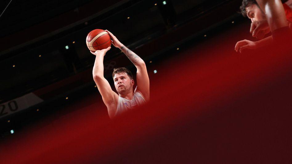 Mit Luka Dončić gilt Slowenien bei Olympia als Titelkandidat