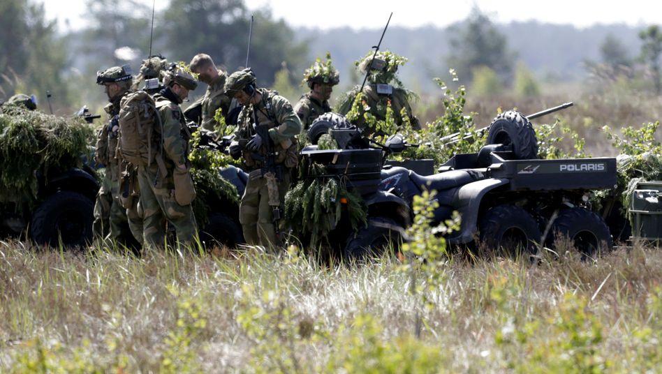 """Nato-Übung """"Saber Strike"""" (in Lettland)"""