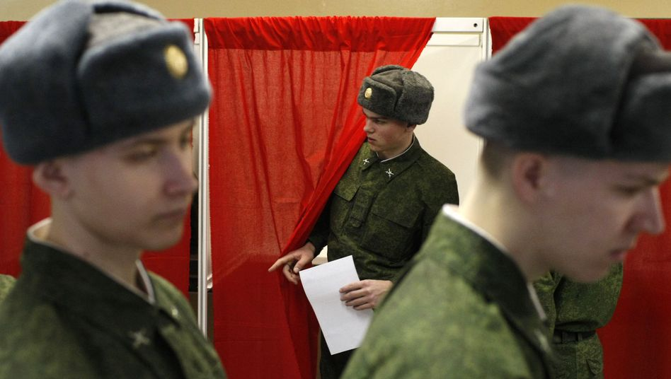"""Wahl in Russland: """"Schon sehr außergewöhnlich"""""""