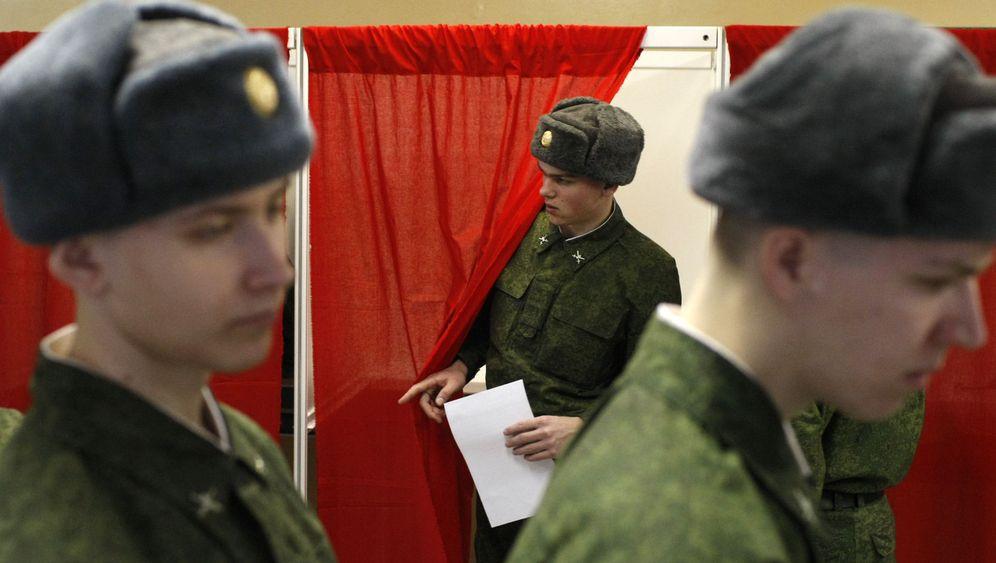 Präsidentschaftswahl in Russland: Abstimmen für Putin