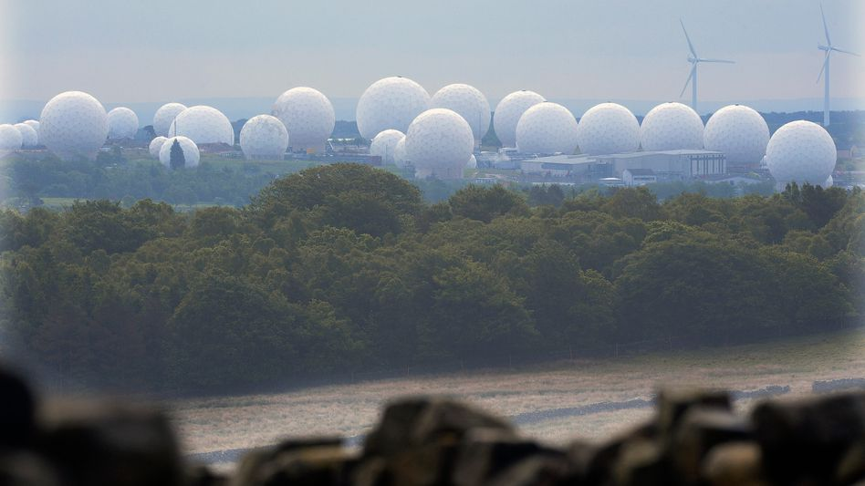"""A GCHQ facility at Menwith Hill in northern England: """"Worse than the United States"""""""