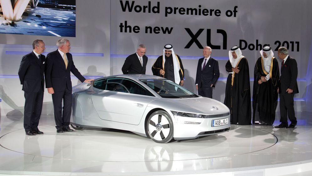 Weltpremiere VW XL 1: Sparmobil im Delfin-Look