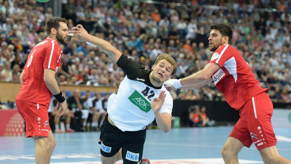 Rückraumspieler Drux: Erfolgreicher Abschluss gegen Österreich