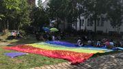 Protest gegen homophoben Kasseler Uni-Professor