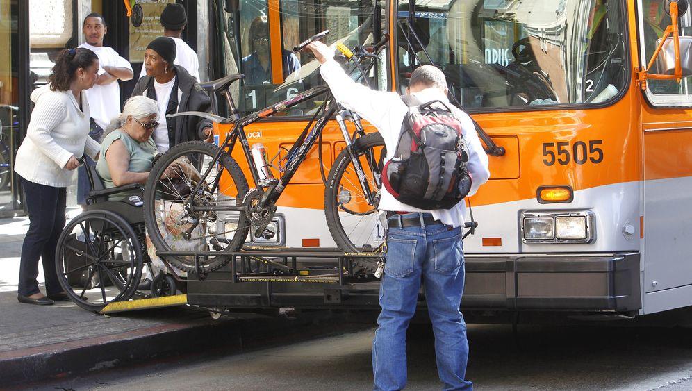 Fahrradfahren in Los Angeles: Vorsicht bei Gelb