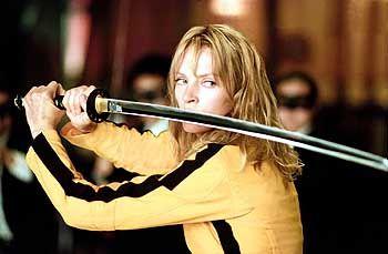 "Racheengel: ""Die Braut"" (Uma Thurman) ist Tarantinos namenlose Revolverheldin"