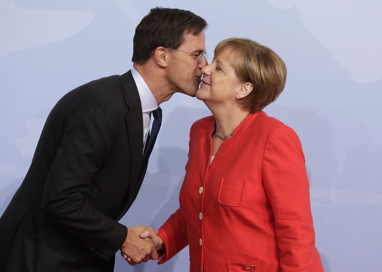 Gipfeltreffen G20/ 2017/ Hamburg/ Küsse