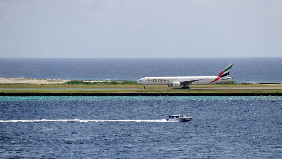 Internationaler Flughafen Male auf den Malediven