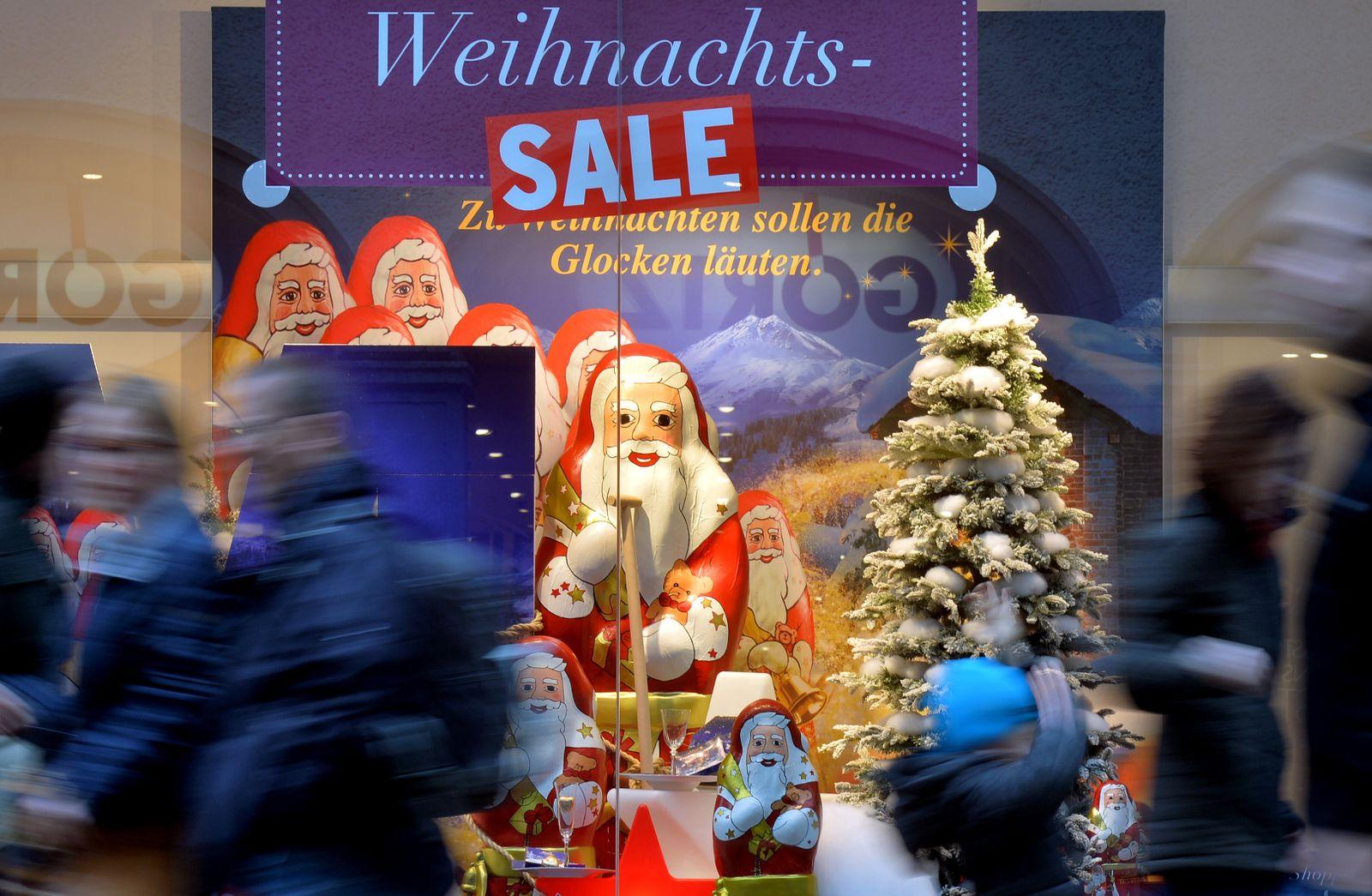 Adventsgeschäft in Sachsen