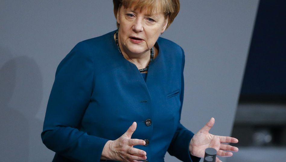 """Kanzlerin Merkel: """"Deutschland braucht wettbewerbsfähige Unternehmen"""""""