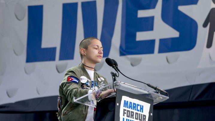 Amerikas Jugend: Der Kampf gegen Waffengewalt
