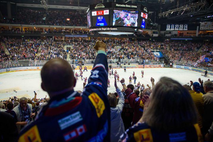 Fans der Eisbären