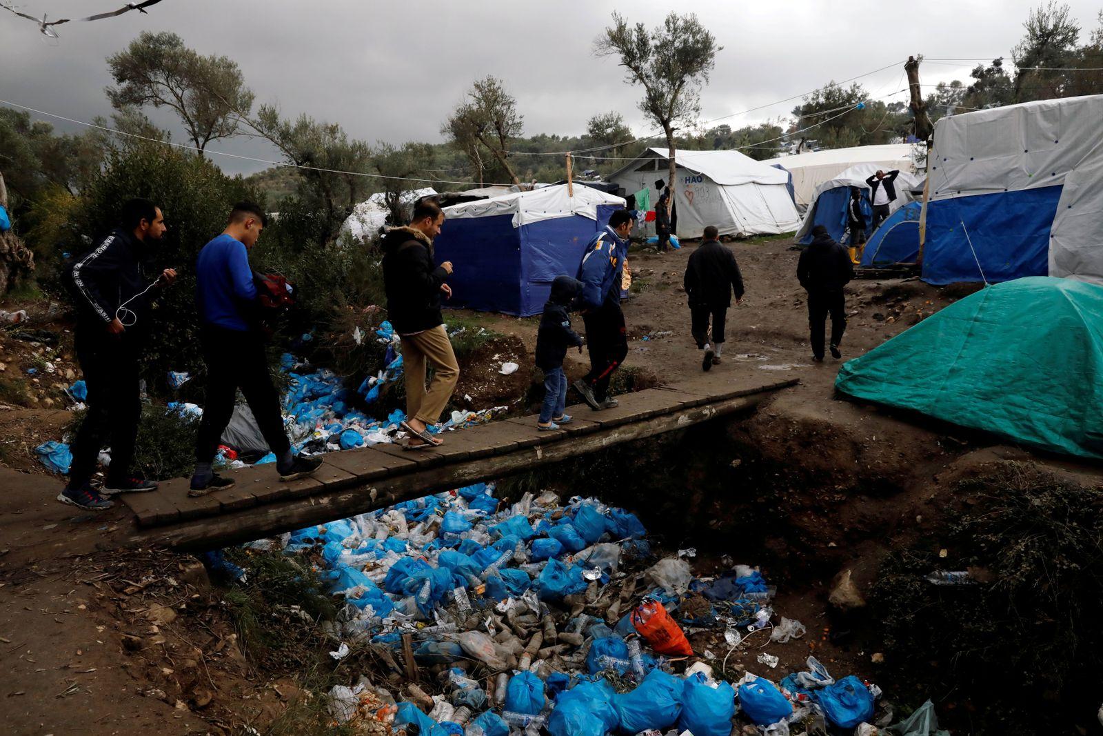 Griechenland Migranten