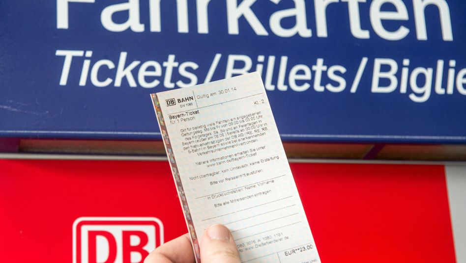 Ticketkauf am Fahrkartenautomat