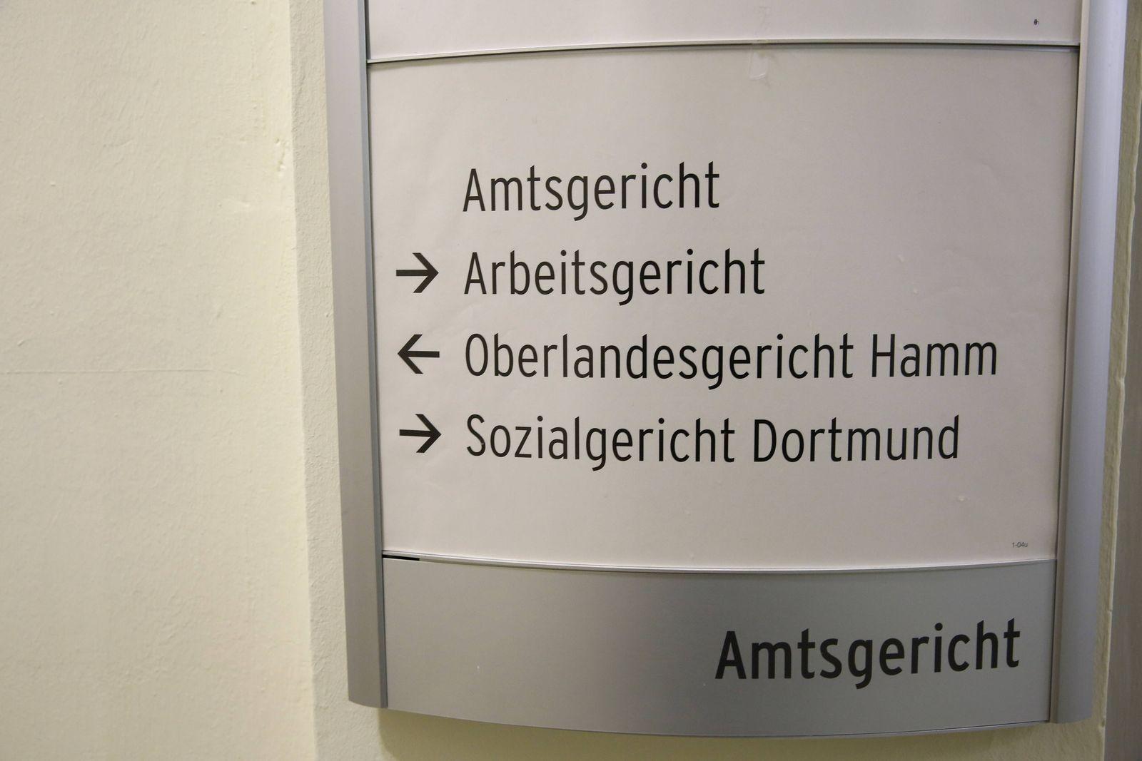 EINMALIGE VERWENDUNG OLG Hamm/ Schild