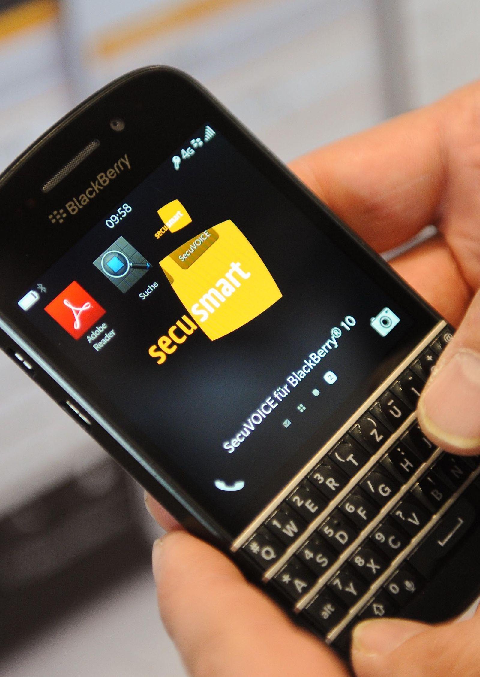 Blackberry übernimmt Secusmart