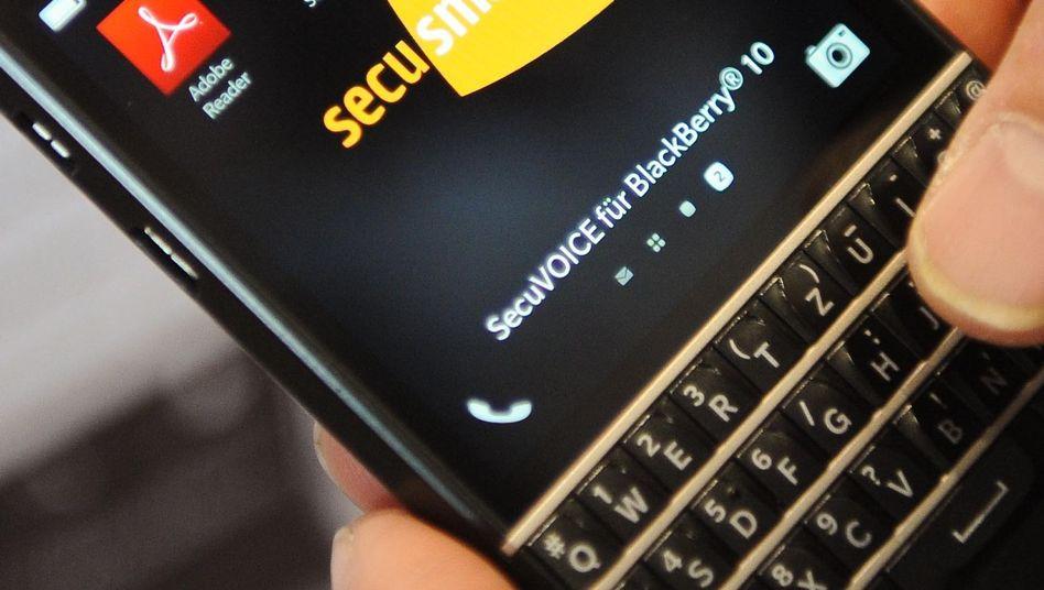 Blackberry-Handy mit Secusmart-Technik: Verschlüsselung für Regierungen und Industrie