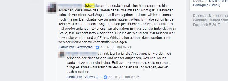EINMALIGE VERWENDUNG Screenshot/ Ichbinhier