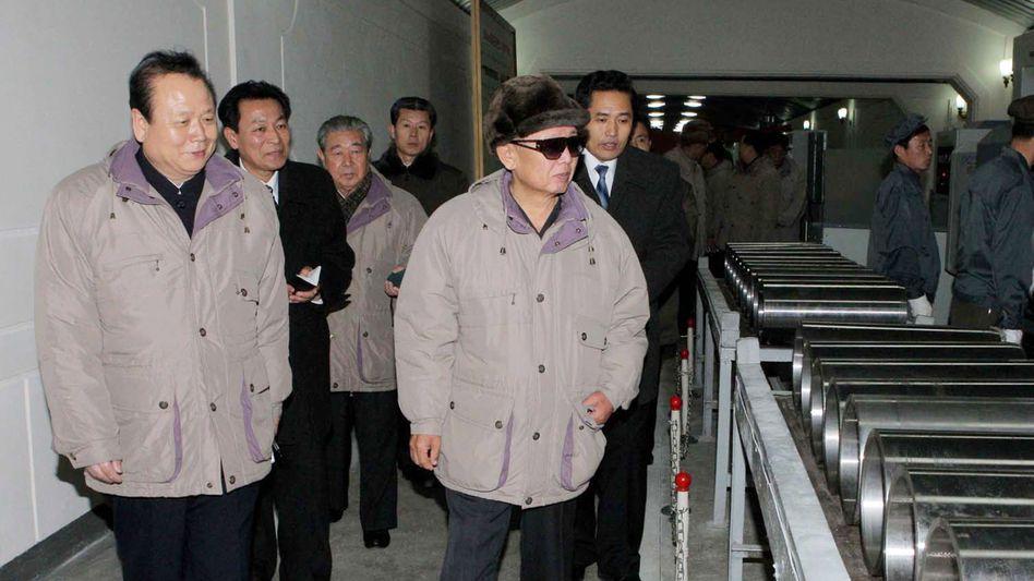Nordkoreas Diktator Kim Jong Il: Offenbar wieder zu Verhandlungen mit den USA bereit