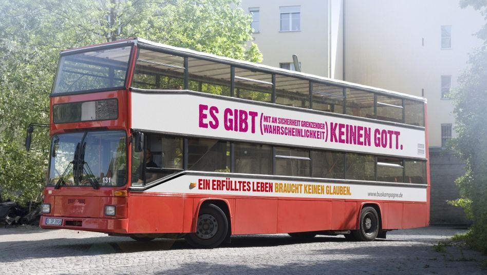"""Buskampagne 2009: Ende Mai mit dem Atheistenpreis """"Sapio 2012"""" ausgezeichnet"""