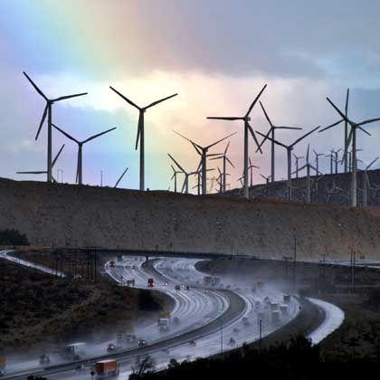 """Windpark (in Kalifornien): """"Wir können der Welt wieder sagen: Europa übernimmt die Führung"""""""