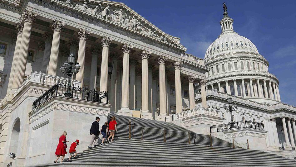 Kapitol in Washington: US-Haushaltsstreit lähmt die Weltwirtschaft