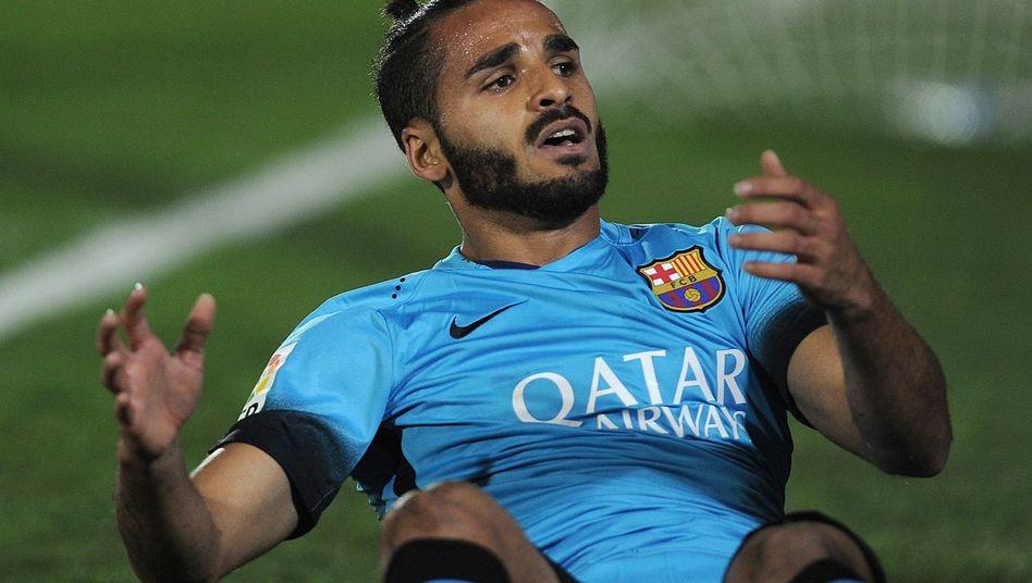 Barcelonas Douglas: Keine Tore im Pokal