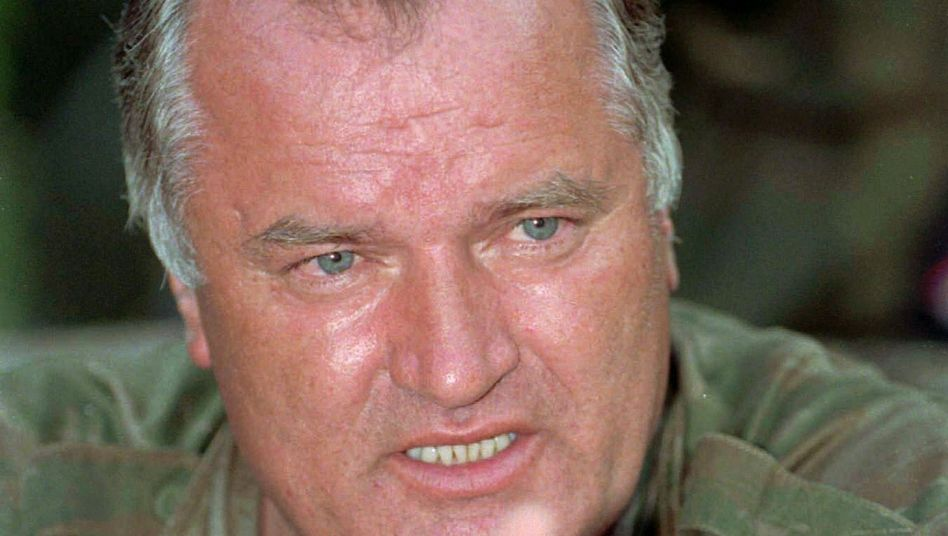 "Ratko Mladic in July 1995: ""The Heinrich Himmler of his generation."""