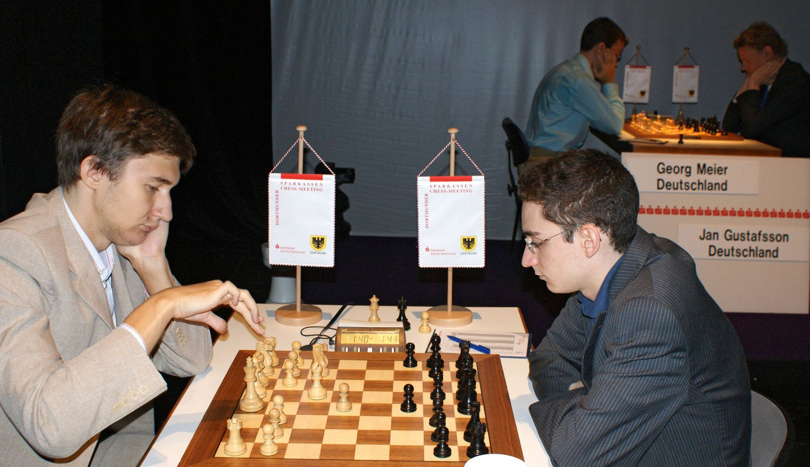 EINMALIGE VERWENDUNG Fabiano Caruana/ Sergej Karjakin