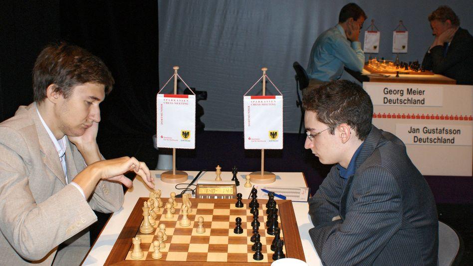 Schachspieler Sergej Karjakin und Fabiano Caruana (2012)