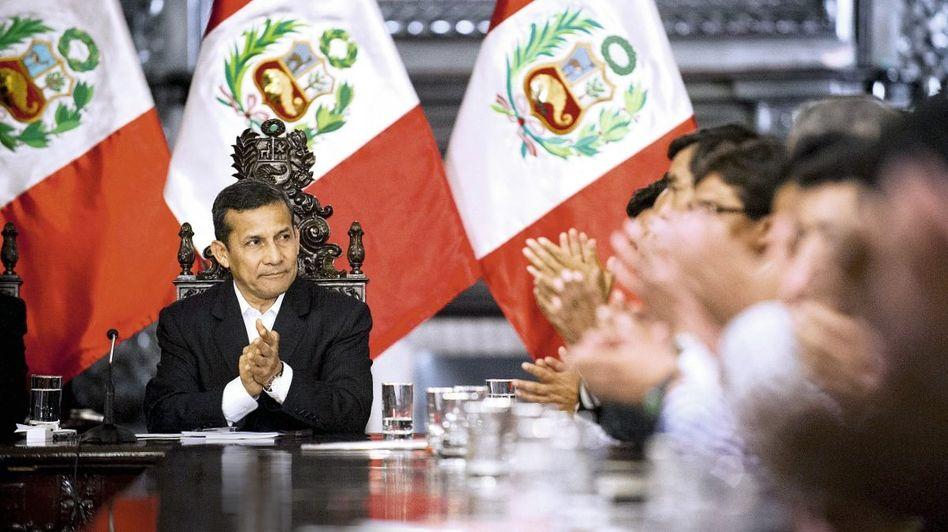 Präsident Humala