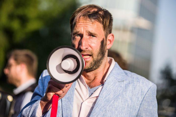 ZPS-Aktionskünstler Philipp Ruch