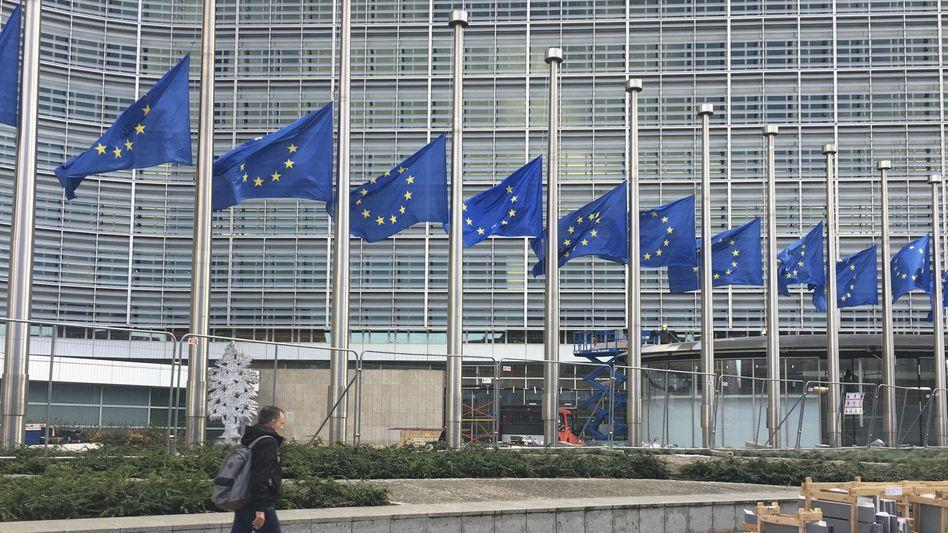 EU-Kommission in Brüssel: Vorbereitungen können beginnen