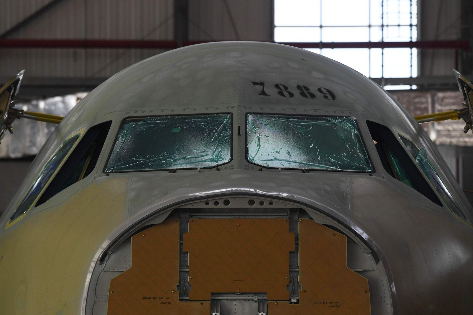 Airbus A320 / Fertigung