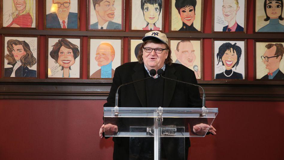 Michael Moore in New York