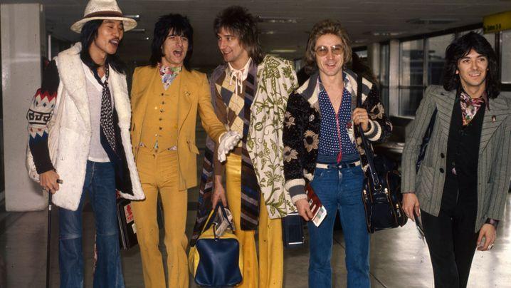 Rod Stewarts frühe Exzesse: Rockstar mit Bügeleisen-Frisur