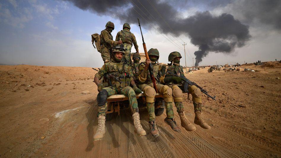 """Kämpfer der schiitischen Miliz """"Popular Mobilization Forces"""""""