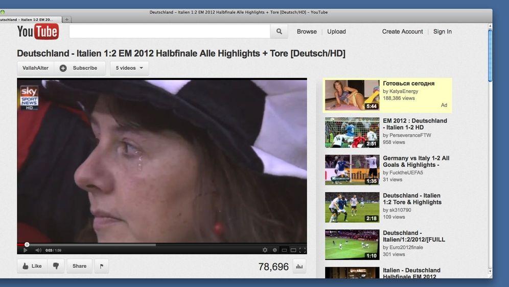TV-Regie: Die falschen Tränen der Uefa