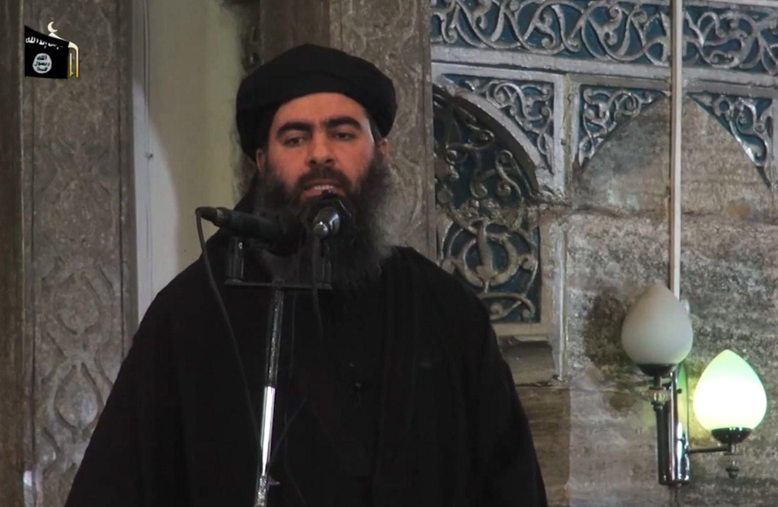 EINMALIGE VERWENDUNG Iraq / Abu Bakr al-Baghdadi