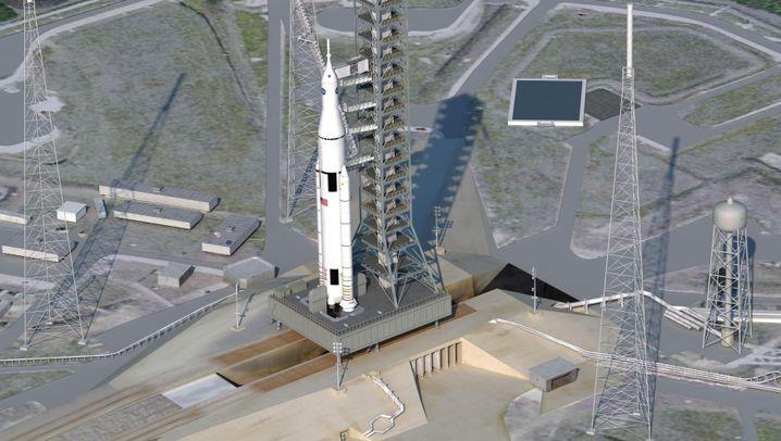 """""""Space Launch System"""": Kraftpaket mit ungewissem Ziel"""